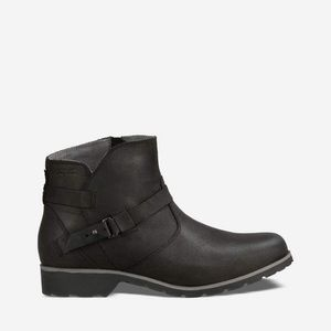 NWOB Teva De la Vina Ankle Boots Black